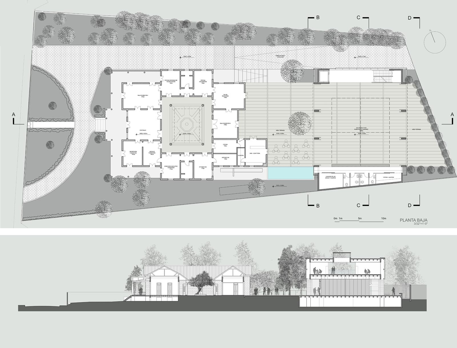 College of Architects and Landscape Architects of Puerto Rico - Annex Building