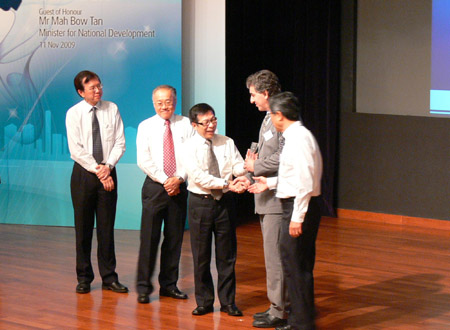 Awards ceremony in Singapore