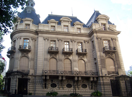 Building Diagnosis of the French Embassy in Argentina