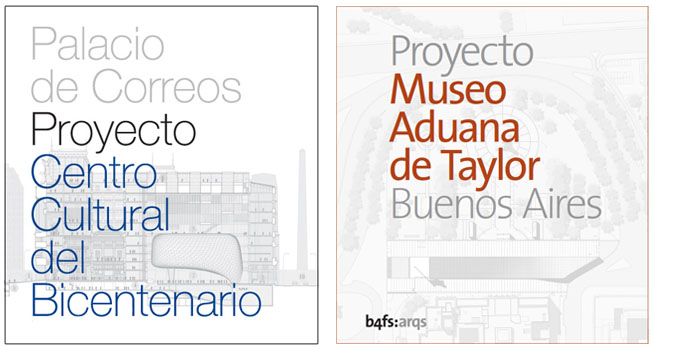 Two documental books about major projects