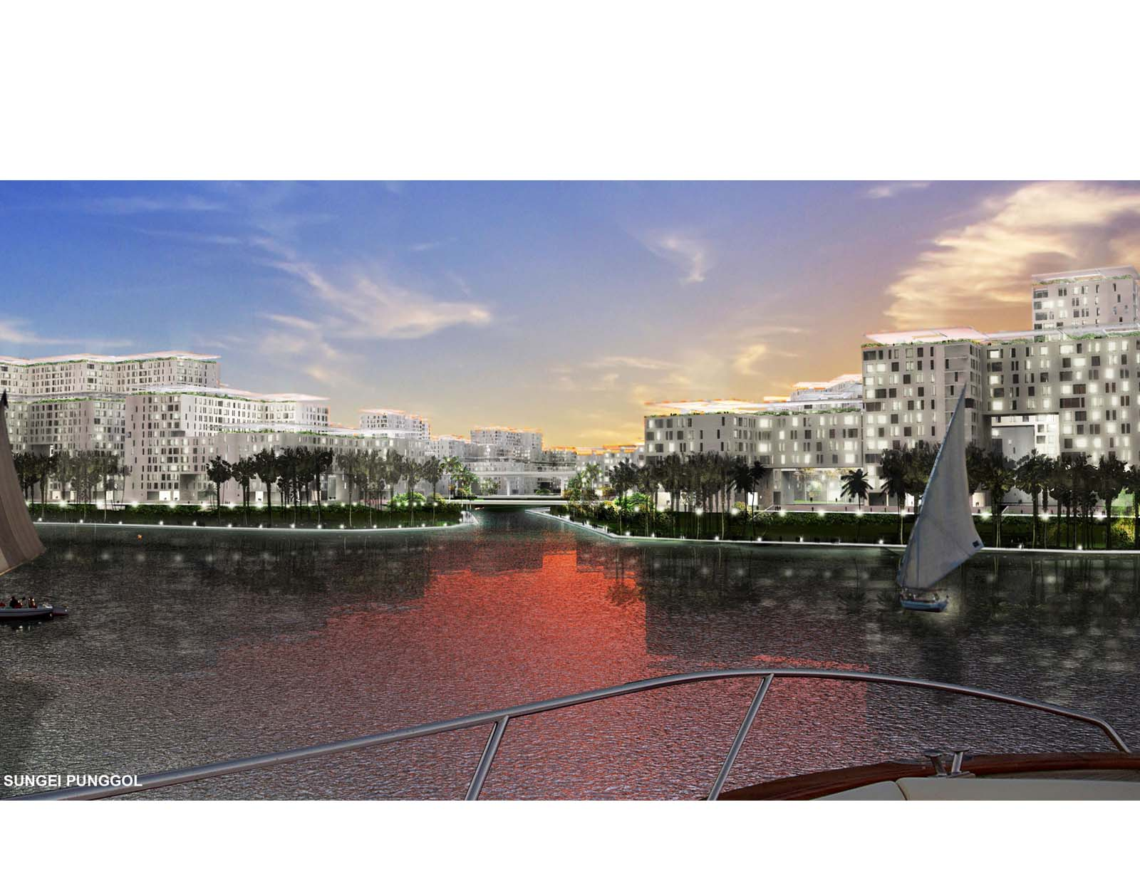 Punggol Waterfront Masterplan & Housing Design